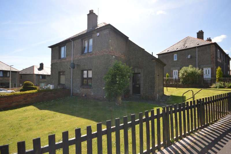 2 Bedrooms Semi Detached House for sale in Adamson Crescent, Dunfermline, KY12
