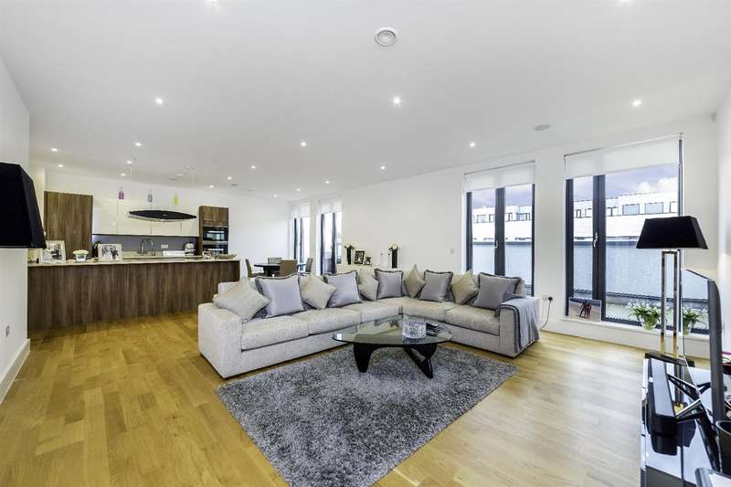 3 Bedrooms Flat for sale in Penthouse Apartment, The Lexington, NW2