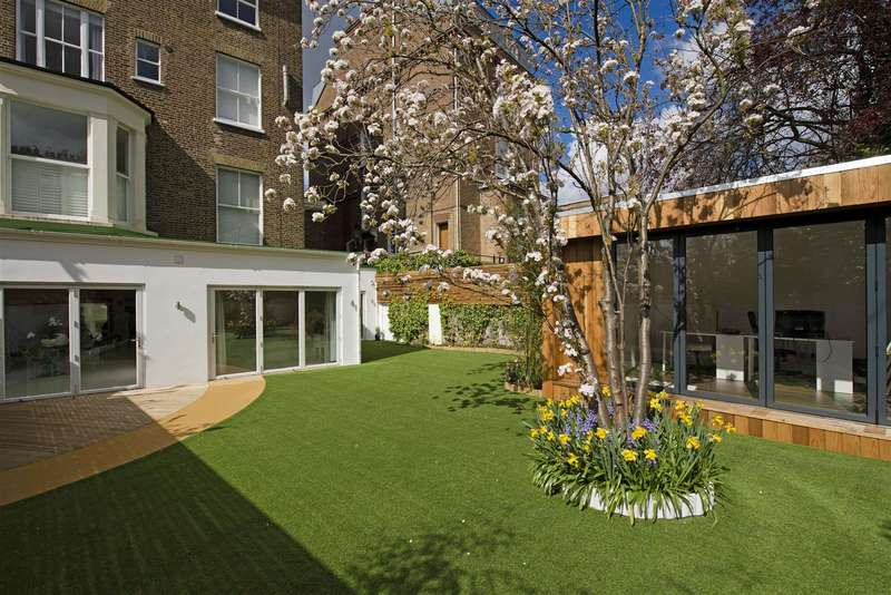 3 Bedrooms Flat for sale in Garden Apartment, College Crescent, Belsize Park, NW3
