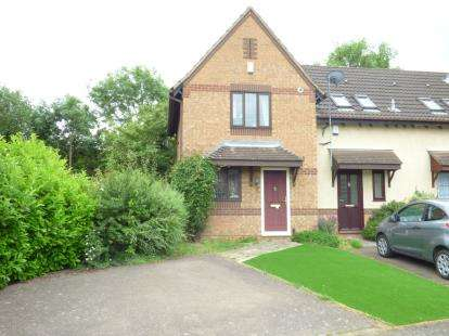 2 Bedrooms End Of Terrace House for sale in Bordeaux Close, Northampton, Northamptonshire