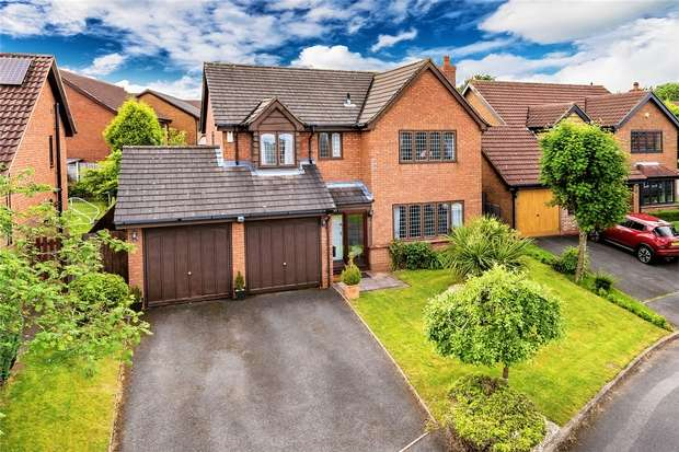 4 Bedrooms Detached House for sale in 2 Walsh Close, Priorslee, Telford, Shropshire