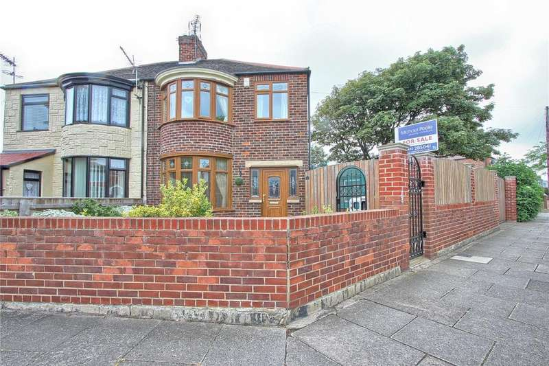 3 Bedrooms Semi Detached House for sale in Chester Road, Redcar