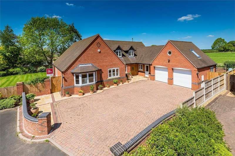 5 Bedrooms Detached House for sale in Whitehouse Court, Soudley, MARKET DRAYTON, Shropshire