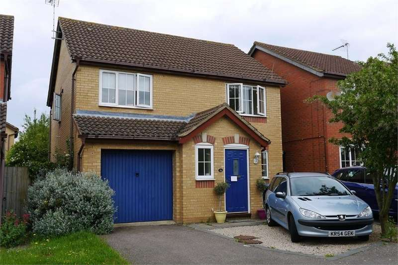 4 Bedrooms Detached House for sale in Gibson Way, Lutterworth, Leicestershire