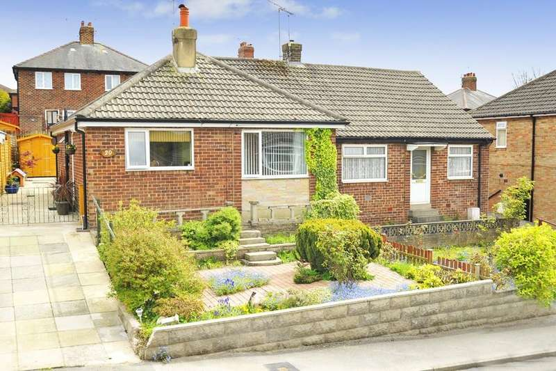 2 Bedrooms Semi Detached Bungalow for sale in Knox Way, Harrogate