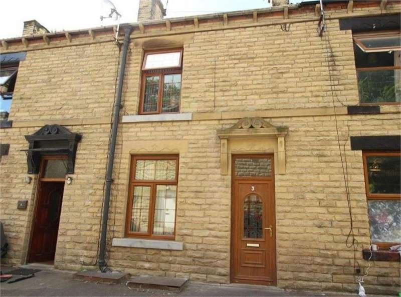 3 Bedrooms Terraced House for sale in Blackburn Place, BATLEY, West Yorkshire