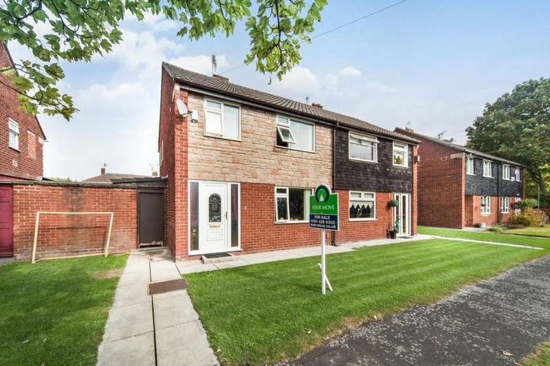 3 Bedrooms Semi Detached House for sale in Wiltons Drive, Knowsley, Prescot, L34