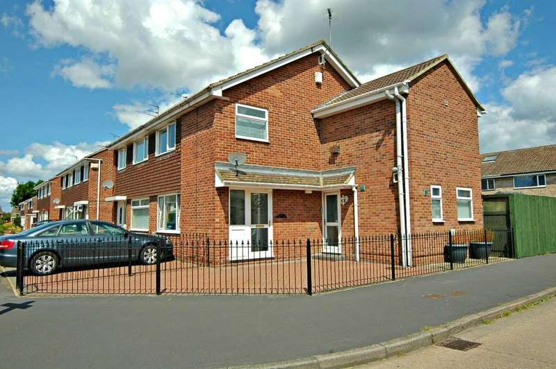 3 Bedrooms End Of Terrace House for sale in Moffat Close, East Hull