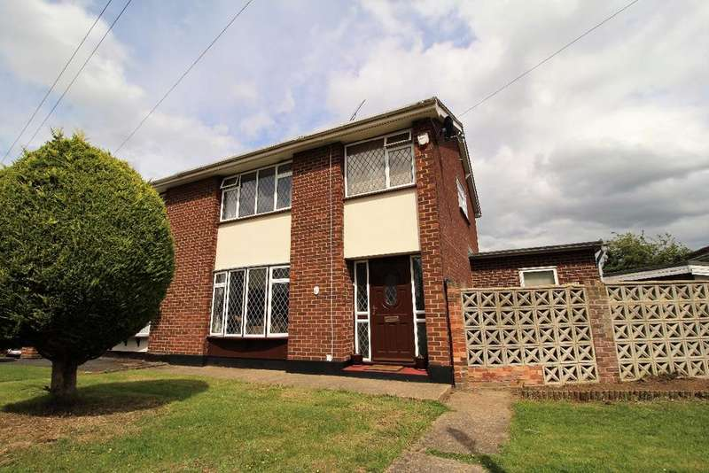 3 Bedrooms Semi Detached House for sale in Chelmer Road, Witham, Essex, CM8 2ET