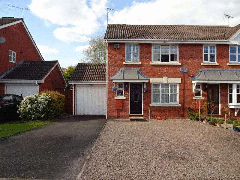 3 Bedrooms Semi Detached House for sale in Cairndhu Drive, Kidderminster DY10 2TB