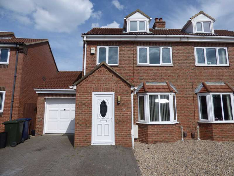 3 Bedrooms Semi Detached House for sale in McLean Road, Brotton