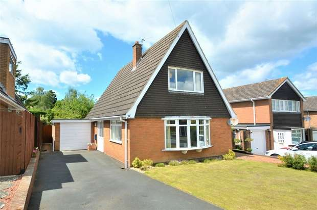 3 Bedrooms Detached House for sale in 10 Ashdale Road, Cressage, Shrewsbury, Shropshire