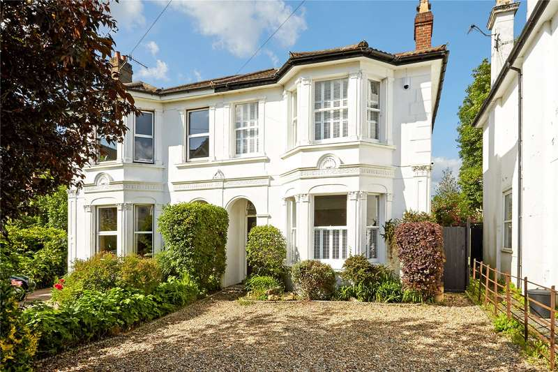 4 Bedrooms Semi Detached House for sale in Park Road, Tunbridge Wells, Kent, TN4