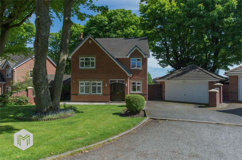 4 Bedrooms Detached House for sale in Markland Tops, Heaton, Bolton, Lancashire