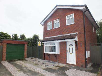 3 Bedrooms Detached House for sale in Hill Walk, Leyland