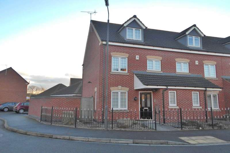 3 Bedrooms Semi Detached House for sale in Gala Drive, Alvaston