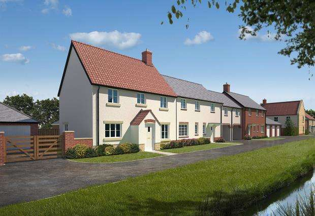 3 Bedrooms End Of Terrace House for sale in Mertoch Leat, Water Street, Martock, Somerset