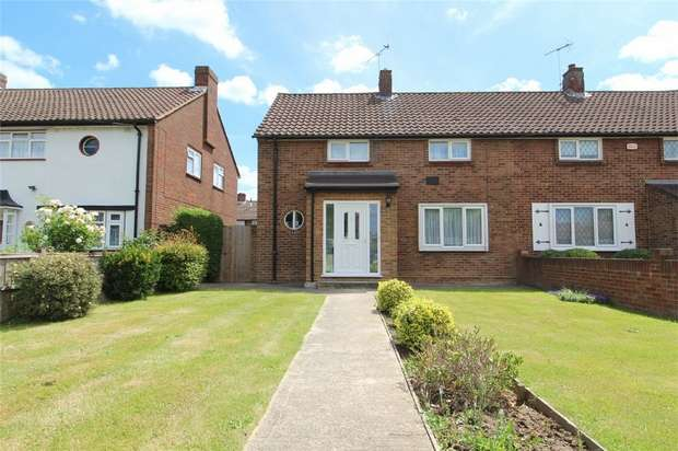 2 Bedrooms Semi Detached House for sale in Clare Road, Stanwell, Middlesex
