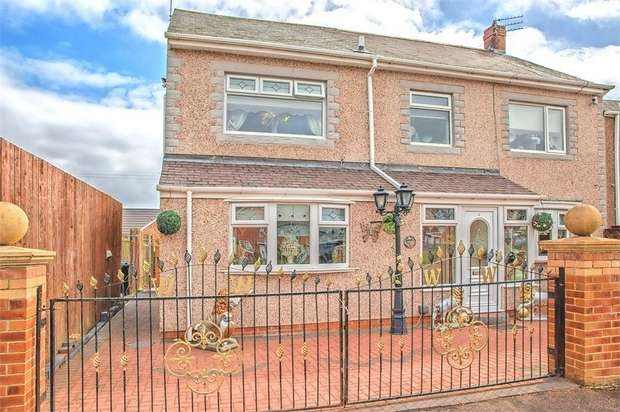 4 Bedrooms End Of Terrace House for sale in Church Avenue, Scotland Gate, Choppington, Northumberland