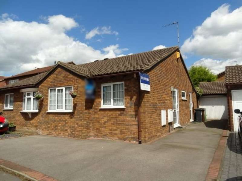 2 Bedrooms Semi Detached Bungalow for sale in Eastbury Drive, Solihull