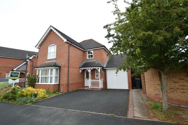 3 Bedrooms Detached House for sale in 19 Latchford Lane, Berwick Grange, Shrewsbury SY1 4YG