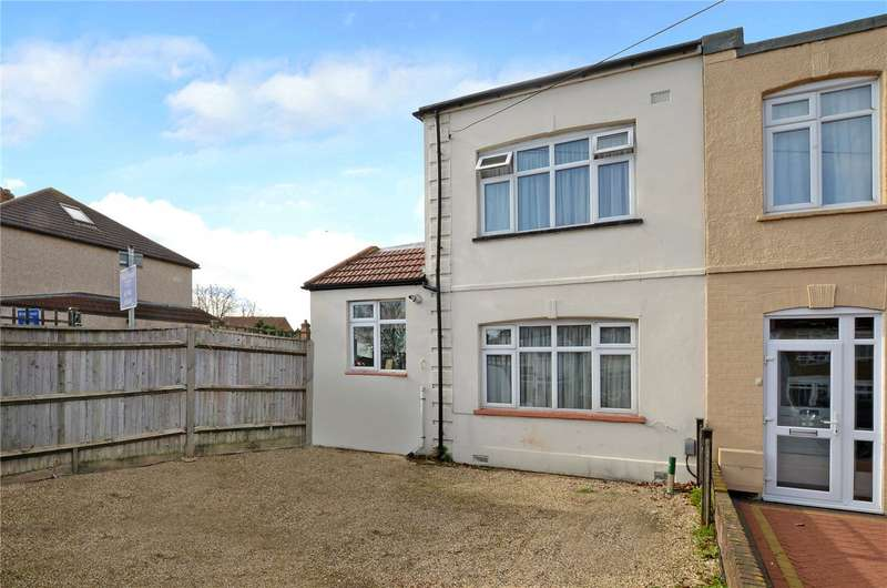 2 Bedrooms Semi Detached House for sale in Dorchester Road, Worcester Park, KT4