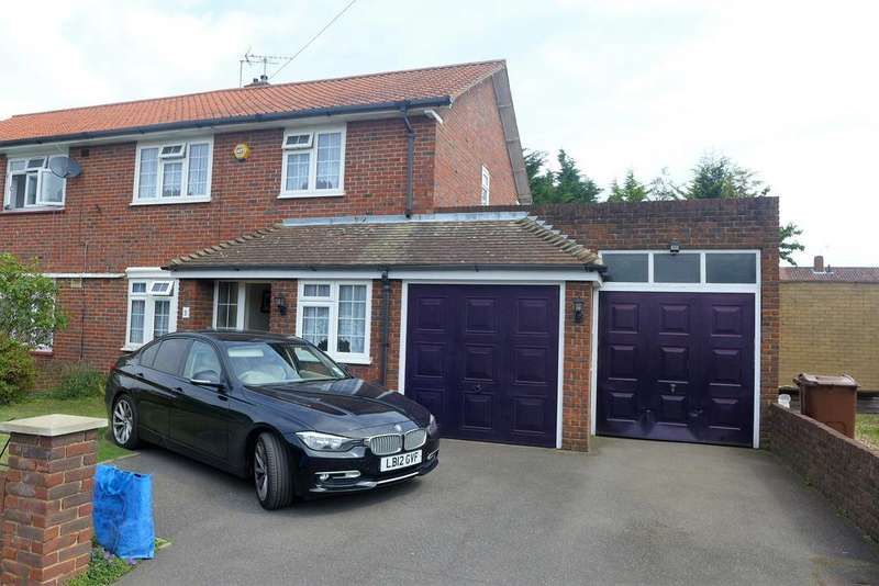 4 Bedrooms Semi Detached House for sale in Fountains Avenue, Feltham
