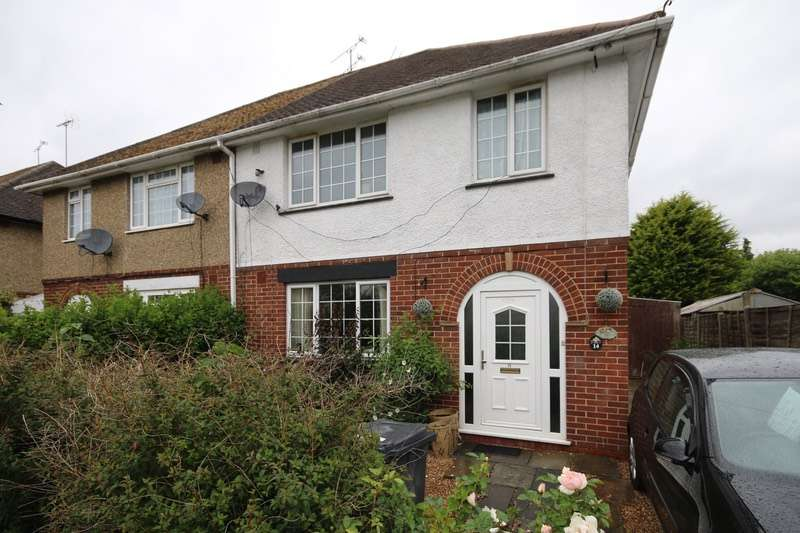 3 Bedrooms Semi Detached House for sale in Queen Mary Avenue, Camberley, Surrey, GU15