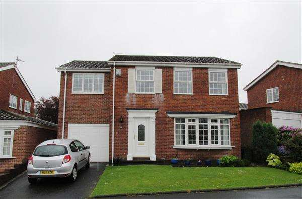 4 Bedrooms Detached House for sale in Grosvenor Court, Newcastle upon Tyne