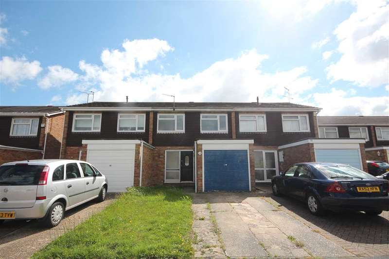 3 Bedrooms Terraced House for sale in Towse Close, Clacton-On-Sea