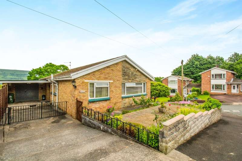 2 Bedrooms Detached Bungalow for sale in Cheriton Grove, Tonteg, Pontypridd
