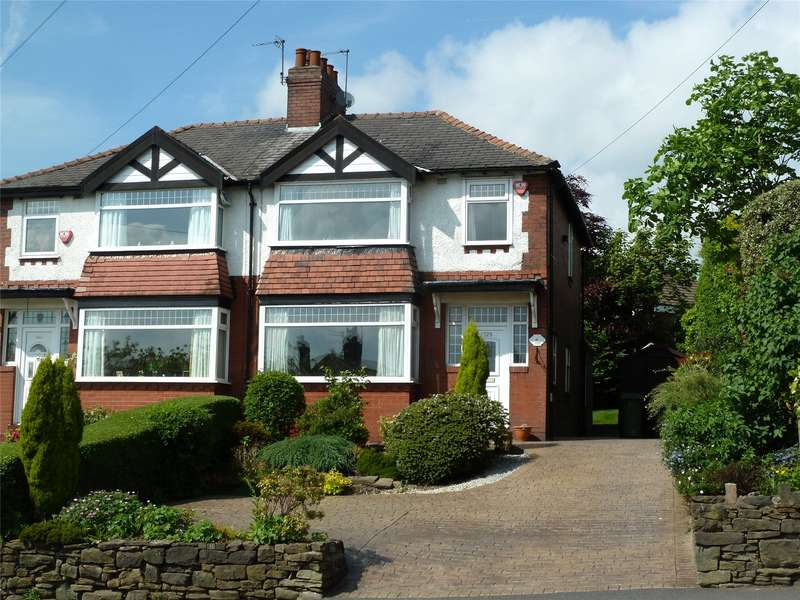 3 Bedrooms Semi Detached House for sale in Oldham Road, Grotton, Saddleworth, OL4