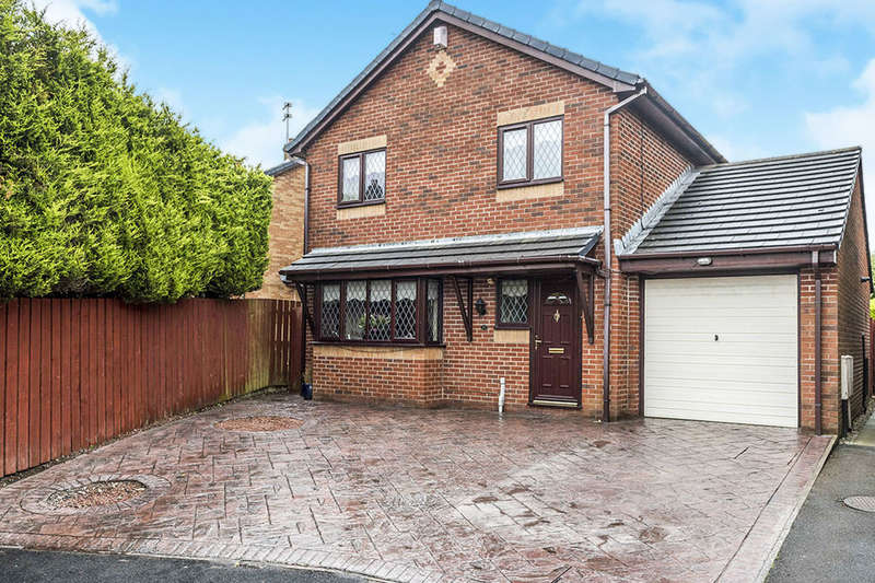 4 Bedrooms Detached House for sale in Meadowclough, Skelmersdale, WN8