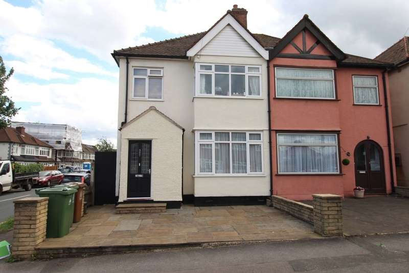 3 Bedrooms Semi Detached House for sale in Gander Green Lane, Cheam, Sutton, SM3