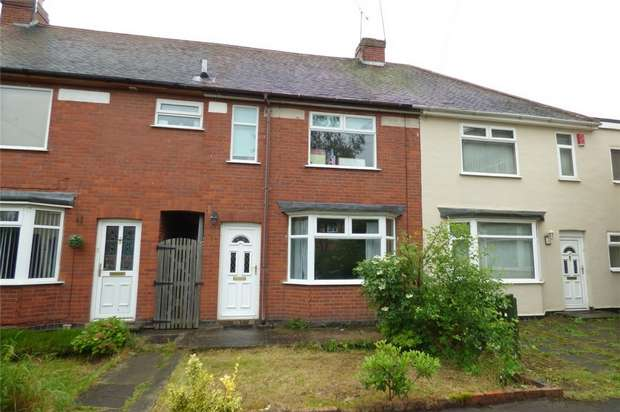 2 Bedrooms Terraced House for sale in Hall End Place, Attleborough, Nuneaton, Warwickshire