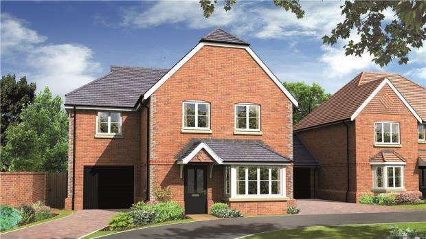 4 Bedrooms Semi Detached House for sale in The Brambles, Basingstoke Road, Spencers Wood