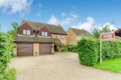 5 Bedrooms Detached House for sale in Wood End Road, Kempston, Bedford, Bedfordshire