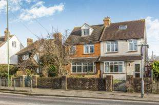 4 Bedrooms Semi Detached House for sale in Stockbridge Road, Chichester, West Sussex, England