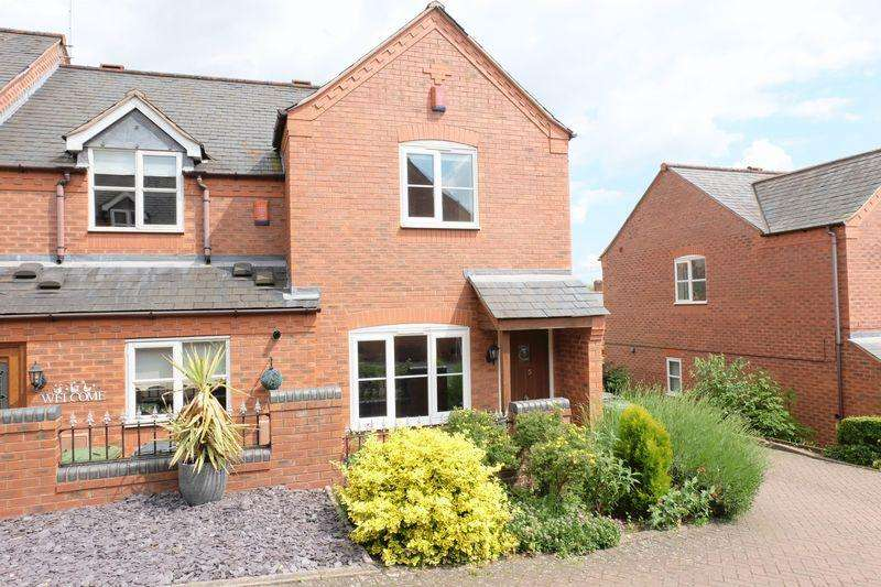2 Bedrooms End Of Terrace House for sale in Lodge Cottages, Stourport-On-Severn DY13 9BW