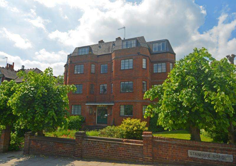 2 Bedrooms Flat for sale in Stanhope Court, Highgate N6