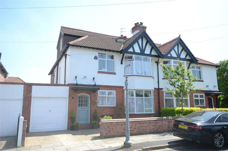 5 Bedrooms Semi Detached House for sale in Ranelagh Drive North, Grassendale, Liverpool, L19