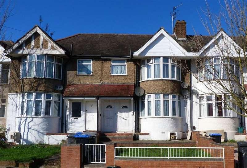 2 Bedrooms Maisonette Flat for sale in Braemar Avenue, Neasden, London