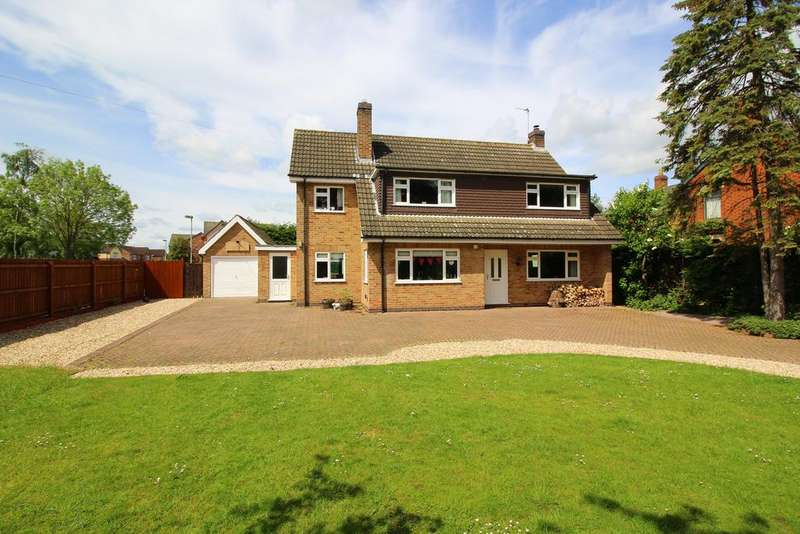 4 Bedrooms Detached House for sale in Belvoir Road, Bottesford NG13