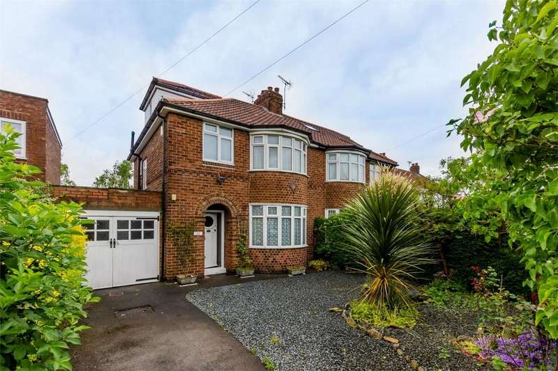 4 Bedrooms Semi Detached House for sale in Alwyne Drive, Shipton Road, York