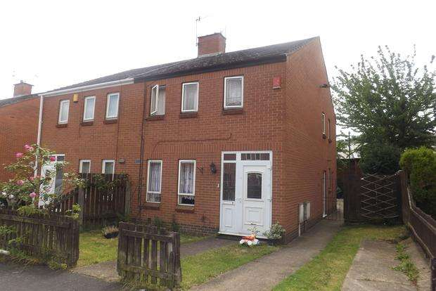 3 Bedrooms Semi Detached House for sale in Whitemoor Avenue, Whitemoor, Nottingham, NG8