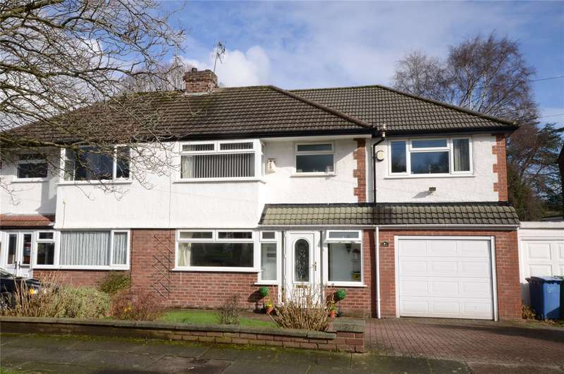 4 Bedrooms Semi Detached House for sale in Wallgate Road, Gateacre, Liverpool, L25