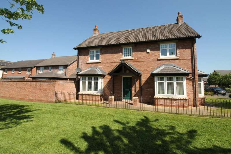 4 Bedrooms Detached House for sale in Turnstone Drive, Carlisle