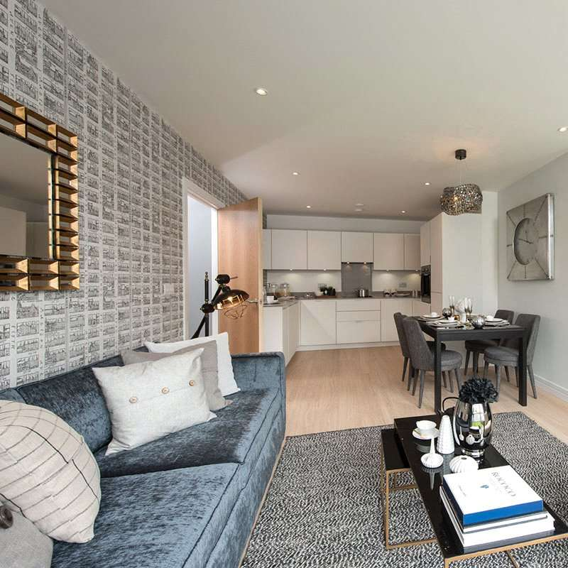 3 Bedrooms Apartment Flat for sale in Rainer Morello, East Croydon