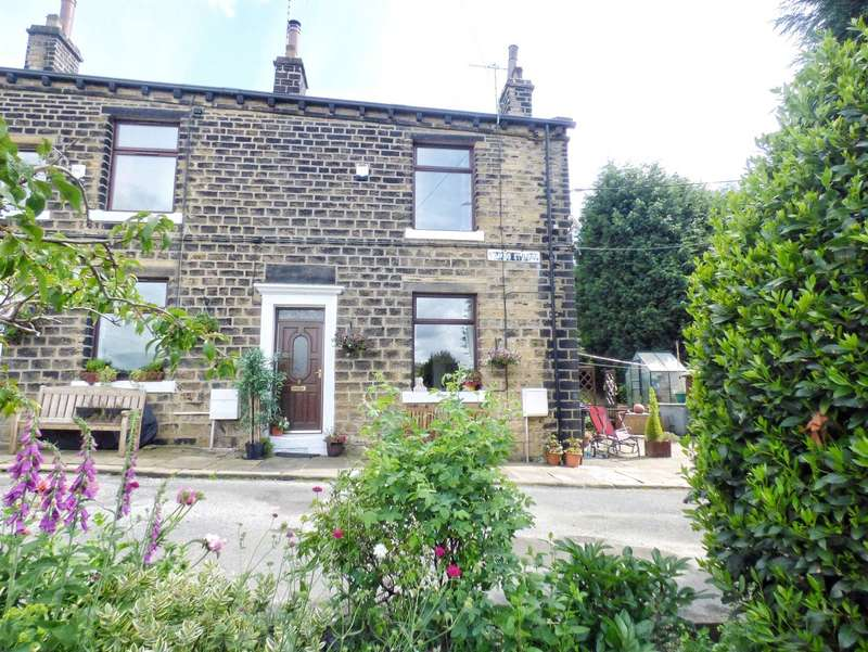 2 Bedrooms End Of Terrace House for sale in Clyde Street, Norland, HALIFAX, West Yorkshire, HX6