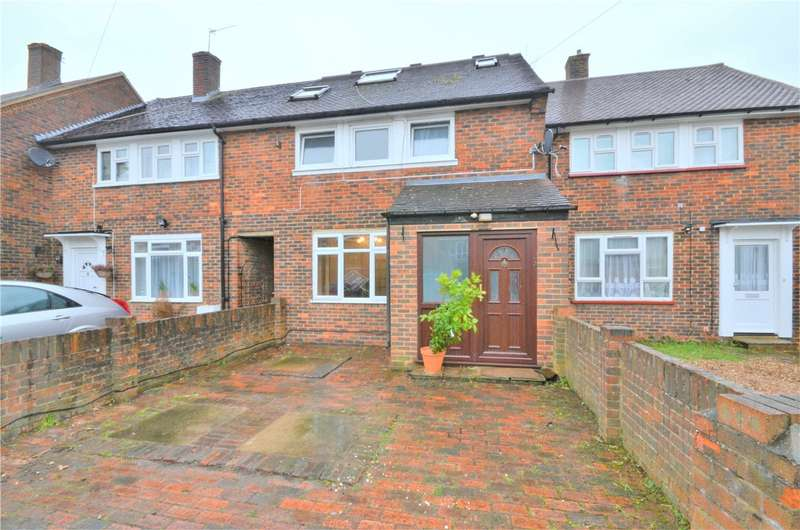 4 Bedrooms Terraced House for sale in Buckton Road, Borehamwood, Hertfordshire, WD6